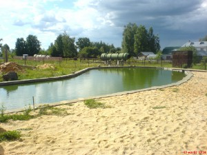 Строительство прудов и искуственных водоемов